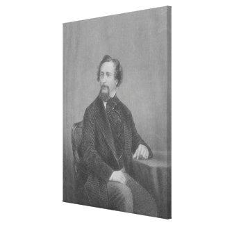 Charles Juan Huffam Dickens Lona Estirada Galerias