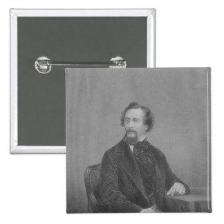 Charles Juan Huffam Dickens Pin