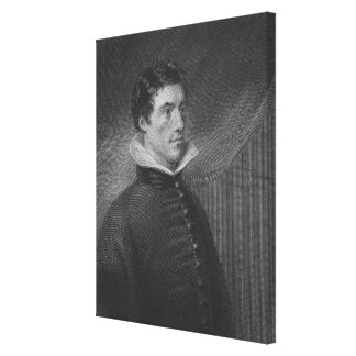 Charles Lamb in his thirtieth year Canvas Print