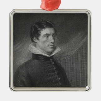 Charles Lamb in his thirtieth year Metal Ornament