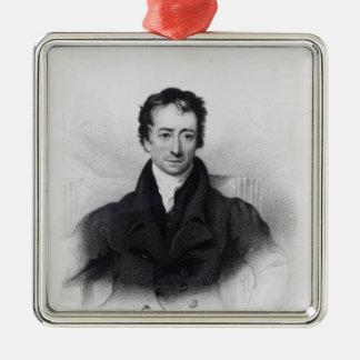 Charles Lamb Metal Ornament