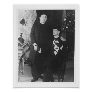 Charles Laughton as Canon Chasuble and Roger Lives Poster