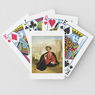 Charles Lennox Cumming, 1817 (oil on panel) Bicycle Playing Cards