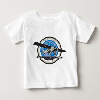 Charles Linberg Historic Flight Baby T-Shirt