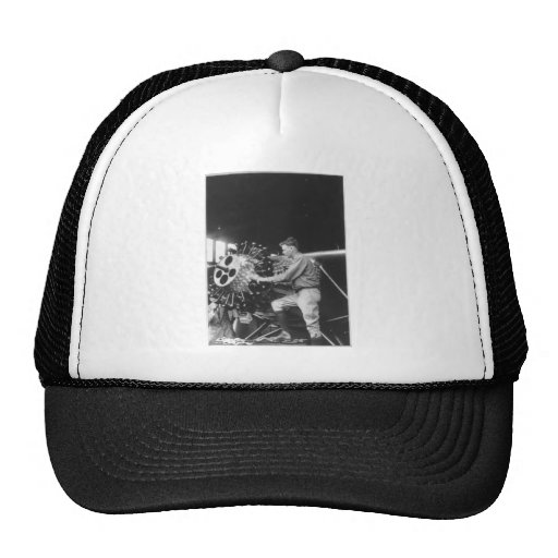 Charles Lindbergh Circa 1927 Hat