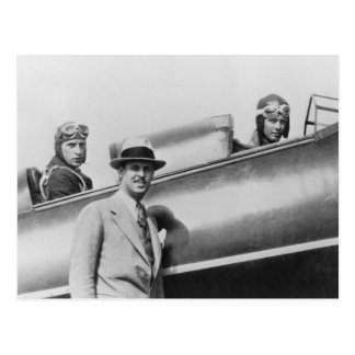 Charles Lindbergh y Fred Weick Postales