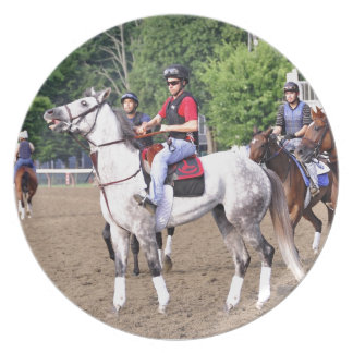 Charles LoPresti Workouts at Saratoga Melamine Plate