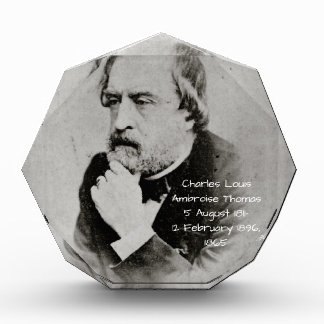 charles Louis Ambroise Thomas 1865 Acrylic Award