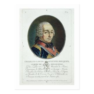 Charles-Louis-Auguste Fouquet (1684-1761) del 'Po Postal