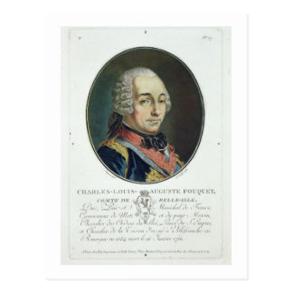 Charles-Louis-Auguste Fouquet (1684-1761) from 'Po Postcard