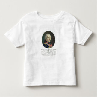 Charles-Louis-Auguste Fouquet (1684-1761) from 'Po Tee Shirt