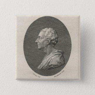 Charles Louis de Secondat, Baron de Montesquieu Button