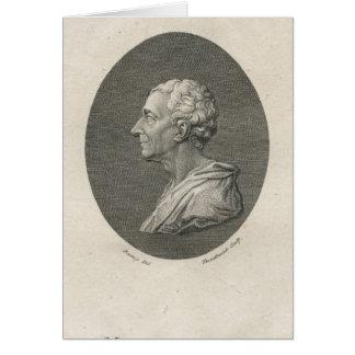 Charles Louis de Secondat, Baron de Montesquieu Greeting Card