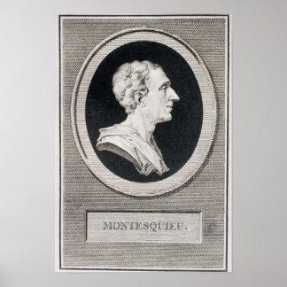 Charles Louis de Secondat, barón de Montesquieu Impresiones