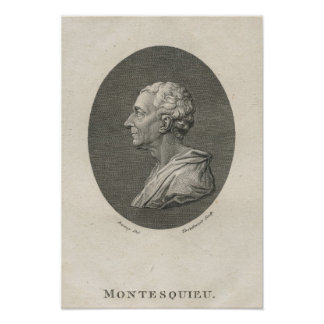 Charles Louis de Secondat, Baron de Montesquieu Poster