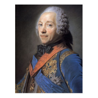 Charles Louis Fouquet, Duke by Maurice Quentin Post Card
