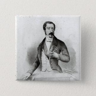 Charles Louis Napoleon Bonaparte Button