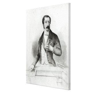 Charles Louis Napoleon Bonaparte Canvas Print