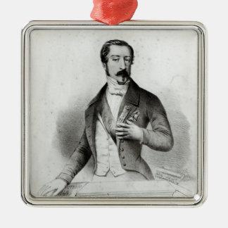 Charles Louis Napoleon Bonaparte Metal Ornament