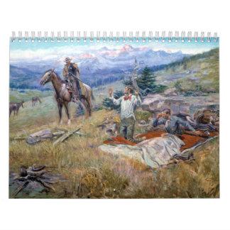 Charles M. Russell Calendarios De Pared