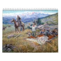 Charles M. Russell Calendar