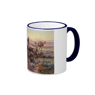 Charles M. Russell que paga al Fiddler (1919) Taza