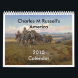 "Charles M Russell&#39;s America Calendar<br><div class=""desc"">Paintings of the Wild West by Charles M Russell. These images (or other media files) are in the public domain because their copyright has expired.</div>"