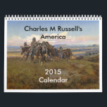 """Charles M Russell&#39;s America Calendar<br><div class=""""desc"""">Paintings of the Wild West by Charles M Russell. These images (or other media files) are in the public domain because their copyright has expired.</div>"""