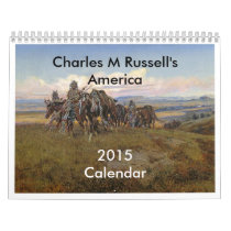 Charles M Russell's America Calendar
