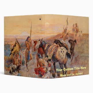 Charles M. Russell's First Wagon Tracks (1908) Binder