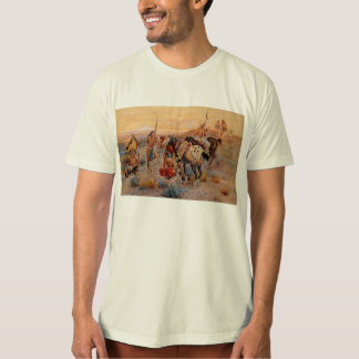 Charles M. Russell's First Wagon Tracks (1908) T-Shirt