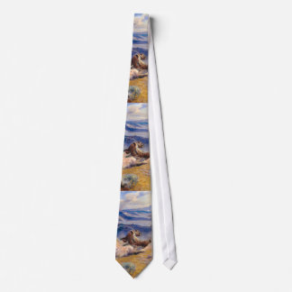 Charles M. Russell's Loops and Swift Horses (1916) Neck Tie