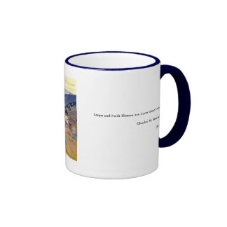 Charles M. Russell's Loops and Swift Horses (1916) Ringer Mug