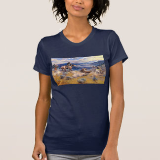 Charles M. Russell's Loops and Swift Horses (1916) T Shirt