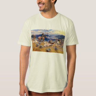 Charles M. Russell's Loops and Swift Horses (1916) Tee Shirt