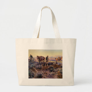 Charles M. Russell's Paying the Fiddler (1919) Bags