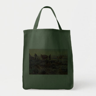 Charles M. Russell's Paying the Fiddler (1919) Tote Bag