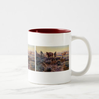 Charles M. Russell's Paying the Fiddler (1919) Coffee Mug