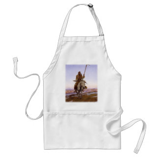 Charles Marion Russell - Cree Indian Adult Apron
