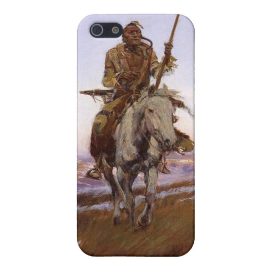 Charles Marion Russell - Cree Indian Cover For iPhone SE/5/5s