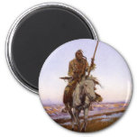 Charles Marion Russell - Cree Indian Refrigerator Magnet