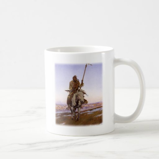 Charles Marion Russell - Cree Indian Mug