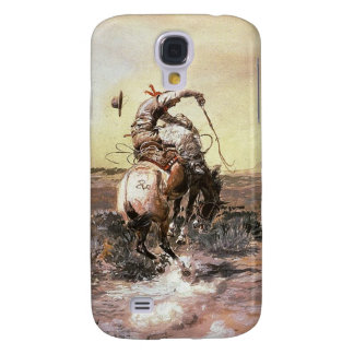 Charles Marion Russell - Slick Rider Galaxy S4 Case