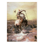 Charles Marion Russell - Slick Rider Post Cards