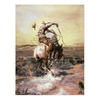 Charles Marion Russell - Slick Rider Postcard