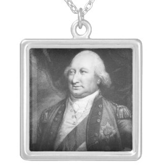 Charles, Marquis of Cornwallis, 1799 Silver Plated Necklace
