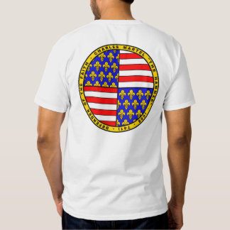 Charles Martel coat of arms Seal shirt