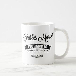Charles Martel Taza Básica Blanca