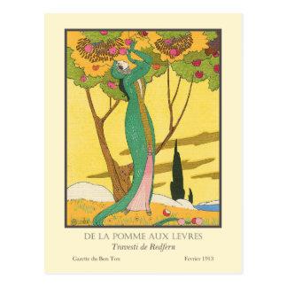 Charles Martin Vintage Art Deco Fashion Postcard