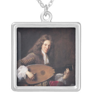Charles Mouton  1690 Silver Plated Necklace